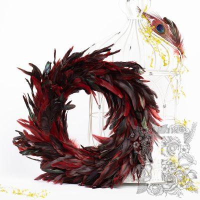 Cubala Feather Wreath