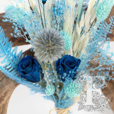 Mini Bouquet - Blue