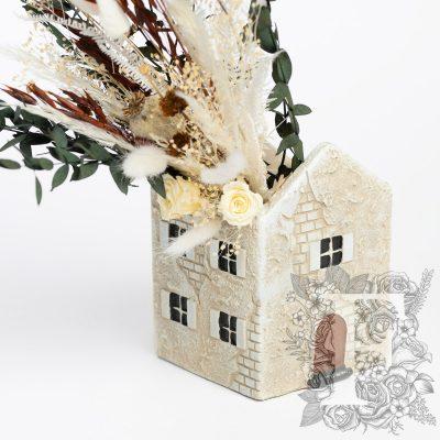 Mediterranean House - Ceramic pot