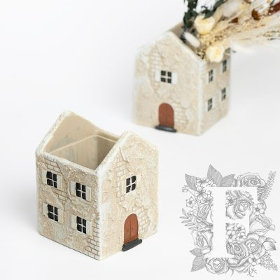 Mediterranean House - Ceramic pot
