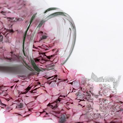 Crushed Shells - Glass Jar