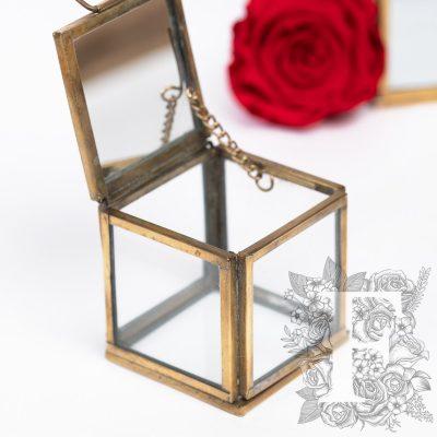Glass Cube - set of 3