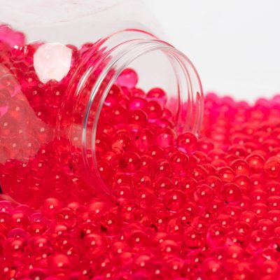 Pearl Gel Crystals - Tub - Red