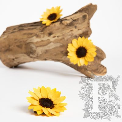 Sunflower - Handmade - 1 Head